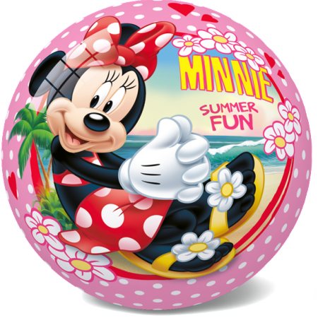 12-2747 STAR BALLS - ТОПКА STAR Ø 14 CM ИЛИ 23 CM MINNIE SUMMER FUN DISNEY