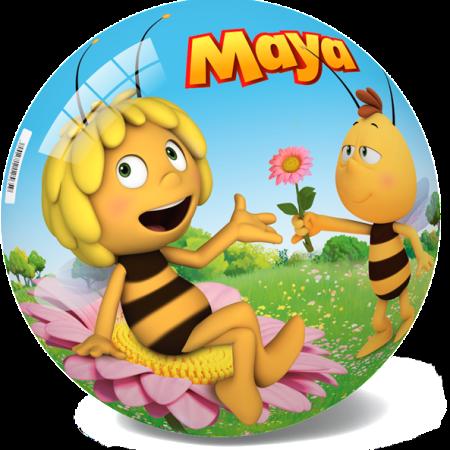 13-2713 STAR BALL - ТОПКА СТАР ПЧЕЛИЧКАТА МАЯ 14 CM ИЛИ 23 CM - MAYA THE BEE BALL
