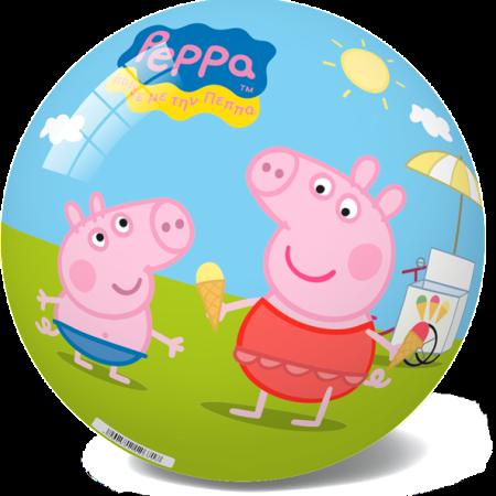 29-2689 STAR BALLS - ТОПКИ СТАР ПРАСЕТО ПЕПА 14 CM ИЛИ 23 CM - PEPPA PIG BALL