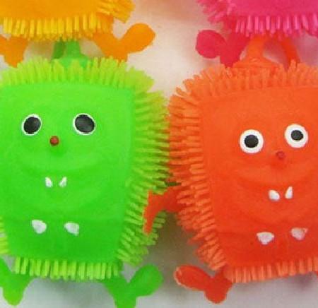Puffers Sponge Bob Squarepants - Пуфери Спондж Боб в различни цветове 24 броя в кутия