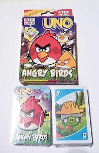 UNO CARDS - UNO CLASSIC CARD GAME ANGRY BIRDS - КАРТИ УНО КЛАСИК ЕНГРИ БЪРДС - УНО КАРТИ ЗА ИГРА