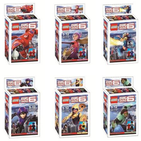 BIG HERO 6 LEGO - БИГ ХИРО 6 ЛЕГО МАЛКИ - 2